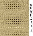background of yellow perforated ... | Shutterstock . vector #753427732