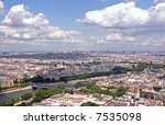 paris   the river seine | Shutterstock . vector #7535098