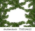 new year christmas. green...   Shutterstock .eps vector #753514612