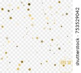 star pattern. transparent... | Shutterstock .eps vector #753529042
