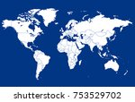 color world map vector | Shutterstock .eps vector #753529702