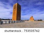 rabat  morocco   january 8 ... | Shutterstock . vector #753535762
