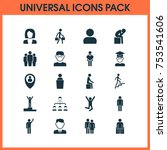 includes icons such as ladder ... | Shutterstock .eps vector #753541606
