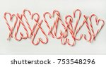 christmas holiday red candy... | Shutterstock . vector #753548296