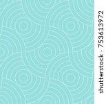 Pattern Seamless Circle...