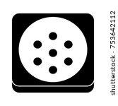 stereo speaker icon   Shutterstock .eps vector #753642112