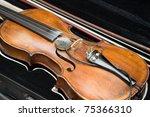 violin | Shutterstock . vector #75366310