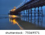 Night View On Eastbourne Pier