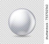 vector realistic transparent... | Shutterstock .eps vector #753702562