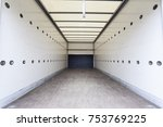 interior of an empty cargo... | Shutterstock . vector #753769225