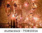 magic christmas night | Shutterstock . vector #753810316