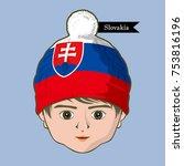 vector of  international flags...   Shutterstock .eps vector #753816196