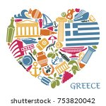 Traditional Symbols Of Greece...