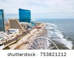 Atlantic City Waterline Aerial...