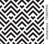 geometric pattrn abstract... | Shutterstock .eps vector #753829942
