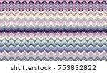 abstract digital fractal... | Shutterstock . vector #753832822