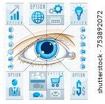 creative infographics concept ... | Shutterstock .eps vector #753892072