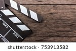 Closeup clapboard  on old wood...