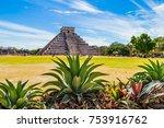 chichen itza  mexico   8 march... | Shutterstock . vector #753916762