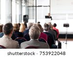 professional or business... | Shutterstock . vector #753922048