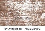 brown watercolor paint splashes.... | Shutterstock .eps vector #753928492
