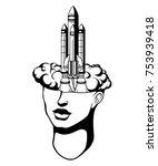 vector hand drawn  illustration ...   Shutterstock .eps vector #753939418