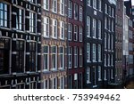 amsterdam architecture building  | Shutterstock . vector #753949462