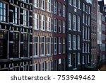 amsterdam architecture building  | Shutterstock . vector #753949462