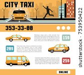 city taxi online services web... | Shutterstock . vector #753950422