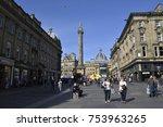newcastle upon tyne ... | Shutterstock . vector #753963265