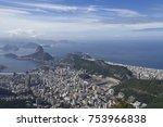 city of rio de janeiro. | Shutterstock . vector #753966838