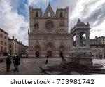 lyon  france    november 6 ... | Shutterstock . vector #753981742