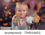 picture showing joyful kids... | Shutterstock . vector #754014652
