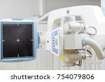 x ray machine with control... | Shutterstock . vector #754079806