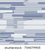 abstract geometric pattern | Shutterstock .eps vector #754079905