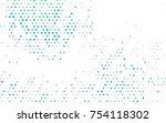 light blue  green vector banner ... | Shutterstock .eps vector #754118302