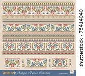 vector seamless pattern in... | Shutterstock .eps vector #75414040