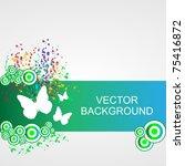 nature background   vector | Shutterstock .eps vector #75416872