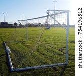 Small photo of Soccer goalie net