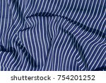 crumpled fabric  texture... | Shutterstock . vector #754201252