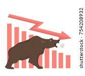 bear stock market. idea of...