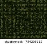 seamless vector pattern.... | Shutterstock .eps vector #754209112