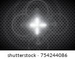 abstract front sun lens flare...   Shutterstock .eps vector #754244086