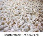 Closeup Of A Foam During...