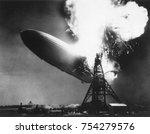 the german passenger airship... | Shutterstock . vector #754279576