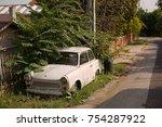 diosd  hungary   september 15 ... | Shutterstock . vector #754287922
