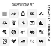 set of 20 editable complex...