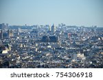 spectacular panoramic view of... | Shutterstock . vector #754306918