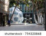 miami  fl  usa   november 11th  ... | Shutterstock . vector #754320868