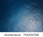 Stock photo sea surface aerial view 754354708